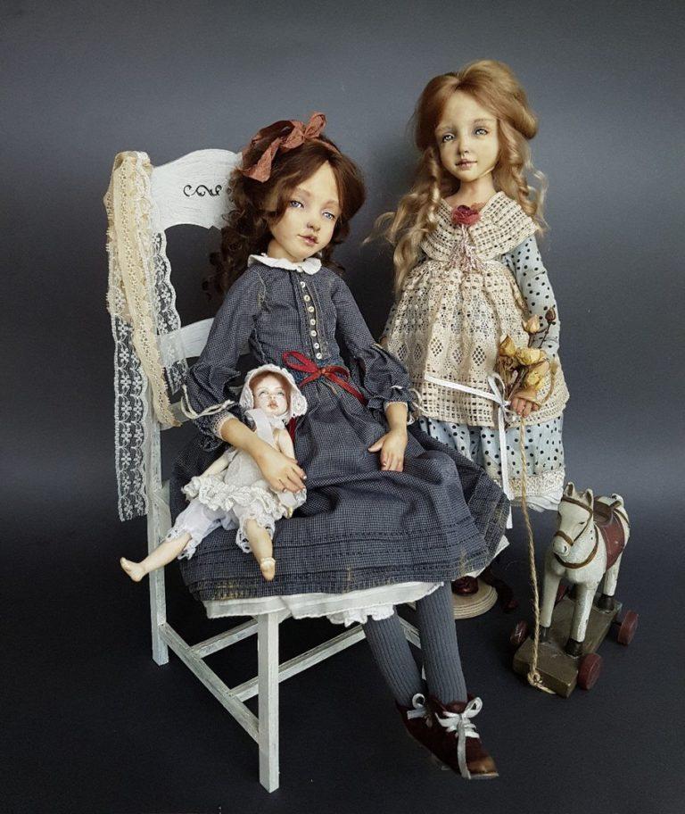Кира Кинаш и ее куклы - Дольки радуги
